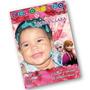 50 Revistas De Colorir Personalizadas 10 X 14 Cm - Frozen