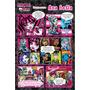 20 Convite Gibi Monster High Ursinho Peppa Luna Aniversário