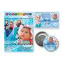 Kit Com 30 Revistas + 30 Ímãs + 30 Latinhas - Frozen