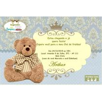50 Convites Personalizados Chá De Bebê Ou Fraldas