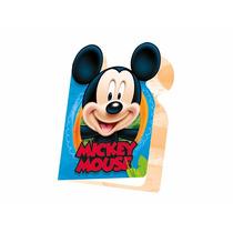 16 Unid. Convites Aniversário Infantil Festa Mickey Mouse