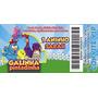 Galinha Pintadinha - Convite Infantil - Ingresso - 50 Unid