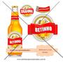 Kit Brahma - Rótulo De Cerveja