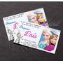 60 Convites Personalizados De Aniversário Infantil +envelope