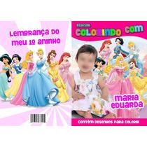 Revistas De Colorir Personalizadas 15 X 21 Cm Entrega Rápida