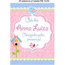 Adesivos Personalizados - Latinha - Tag - Tubete - Topper