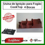 Usina De Ignição Para Fogao Cooktop 4 Bocas Original