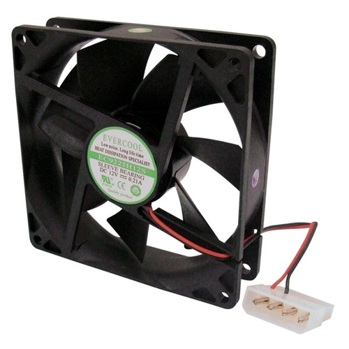 Cooler Ec9225h12s 90 X 90 X 25mm Evercool 12v