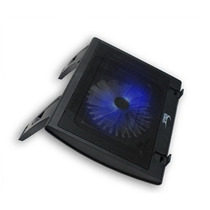 Suporte Base Notebook 15,6 Com Cooler 130mm Led Azul Hub Usb