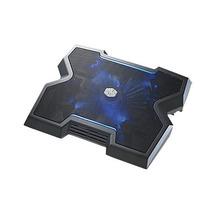 Base Para Notebook X3 Preta - 1 Fan 200mm Com Led Azul #novo
