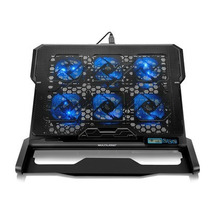 Cooler Para Notebook Hexa Led 6 Coolers Até 17´ Multilaser