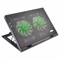 Power Cooler Duplo Gamer Para Notebook Led Multilaser Ac267