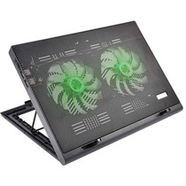 Base Cooler Gamer Externo Com Led Luminoso P/ Notebook