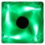 Cooler De Gabinete 120mm Akasa Ak-174cg-4gns Com Leds Verdes
