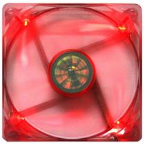 Cooler De Gabinete 120mm Akasa Ak174cr-4rds Leds Vermelhos