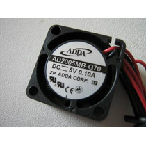 Micro Ventilador 20x20x10mm Fan Cooler Adda 5v Dc Mini 20mm
