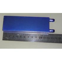 Water Cooler Waterblock, Bloco De Alumínio Aletado 40x120x12