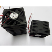 Lote Com 12 Unidades Cooler Dc Brushless 12v 0.20a 8x8x1,5cm