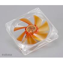 Cooler Fan 80mm Akasa Amber Ak182-l2b Ultra Silencioso