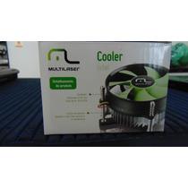 Cooler Para Cpu Intel - Multilaser - Ga043 - Com Fixador