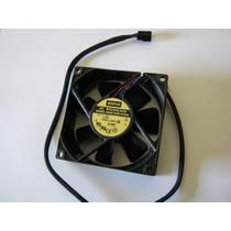 Micro Ventilador 80x80 Fan Cooler 12v Rolamento Ultra Forte