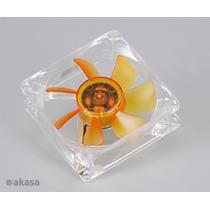 Cooler Akasa Fan 2 Rolamentos Amber 80x80x25mm Ultra Quiet