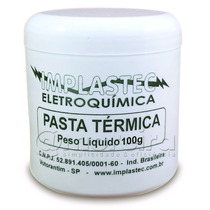 Pasta Térmica Implastec 100g Pc Processador Placas Cooler