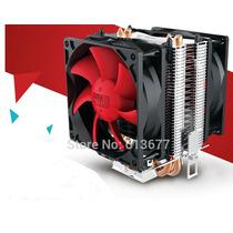 Cooler P/ Processador Pc Cooler C/2 Ventoinha 80mm Intel Amd