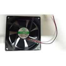 Cooler Ventilador 90x90x25 5v Conector Ide Df0922505sel Nova