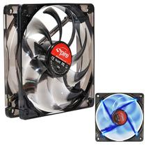 Cooler Spire Para Gabinete Desktop Pc 120x120 Led Azul