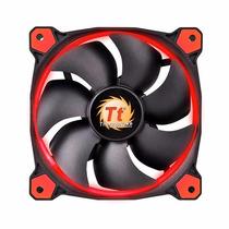 Fan Tt Riing 12 Radiator Fan Led Red 1500rpm Cl-f038-pl12re-