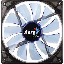 Ventilador Para Gabinete Aerocool Fan 14cm 120mm Azul Led