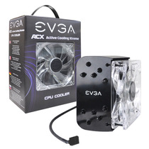Cooler Cpu Evga Acx 100-fs-c201-kr Intel / Amd Heatpipe