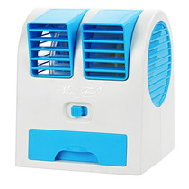 Mini Ventilador Portátil Usb Ar Condicionado Aroma Pc