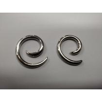 Alargador Caracol | Espiral | Aço Cirurgico | 3mm