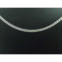 Corrente Grumet Elo Duplo Prata 925 3.2mm Brinde Limpa Prata