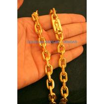 Cordão Corrente Cartier - Banho Ouro 18k- 145gr -com Brilho