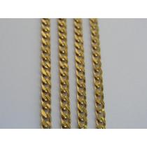 Cordão / Corrente De Ouro 18k - Masculino - Malha Grumet