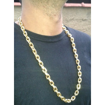 Cordão Corrente Cartier Banhada Ouro 18k - 70cm - 190gramas