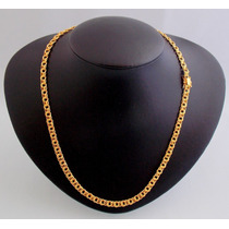 Cordão Friso Duplo Em Ouro 18 Kl 750