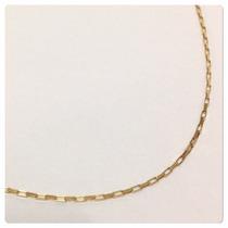 Cordão Cartier 83 Cm 2.4 Grs Masculino Ouro 18k Certificado