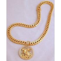 Cordão Oco Modelo Grumete Em Ouro 18 K 750