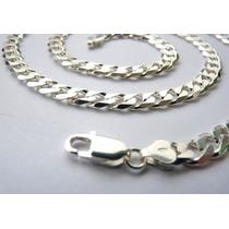 Corrente Prata Italiana 925, 60 Cm, Diamantada, Cód. 5100