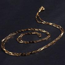 Corrente De Ouro Amarelo 18k Cartier 60 Cm