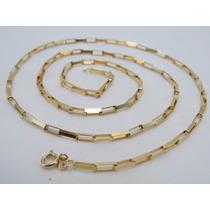 Cordão Corrente Cartier Grossa 60cm Em Ouro 18k-750