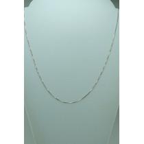Corrente Veneziana Prata 925 - 40cm ..frete Grátis