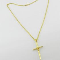 Corrente Cordão Masculino 80cm 2mm Pingente Folheado Ouro18k