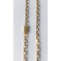 Cordão/corrente Cartierzinho - Banhado A Ouro - Fecho Gaveta