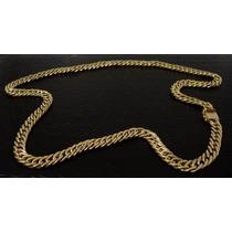 Corrente Ouro 18k Grumet/dupla Oca 50cm 35grs F/gaveta