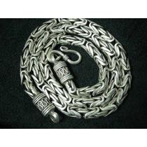 [ronqui] Corrente Cordão Bali Prata 925